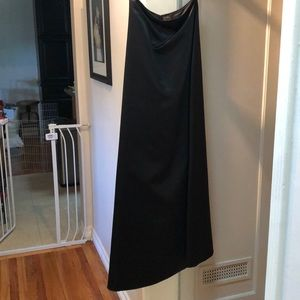 Jessica McClintock A-Line black ball gown skirt